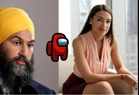 Jagmeet Singh Among Us 2020
