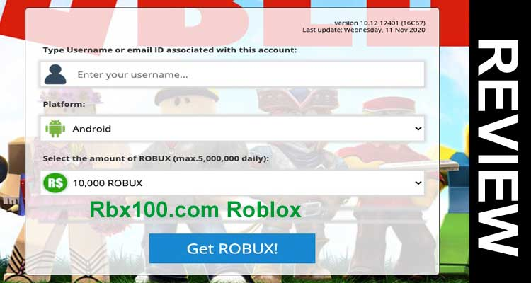 Rbx100 Roblox Review 2020