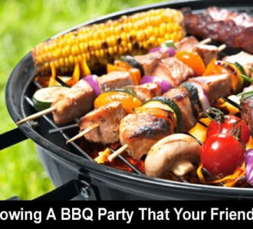 Throwing A BBQ Party 2020