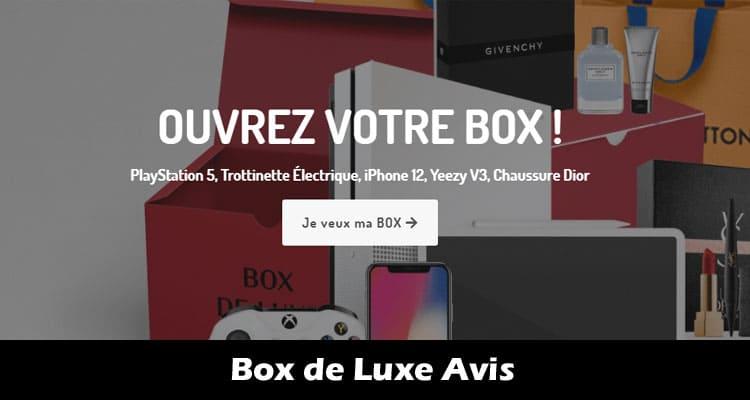 Box de Luxe Avis 2020