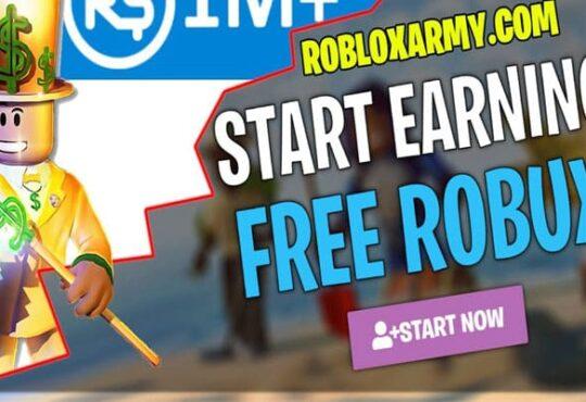 Buxarmy Free Robux 2020