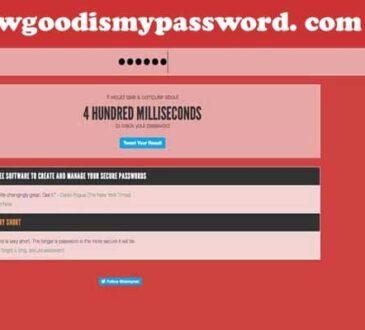 Howgoodismypassword. com 2020.