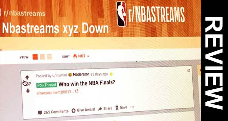 Nbastreams.xyz Down 2020