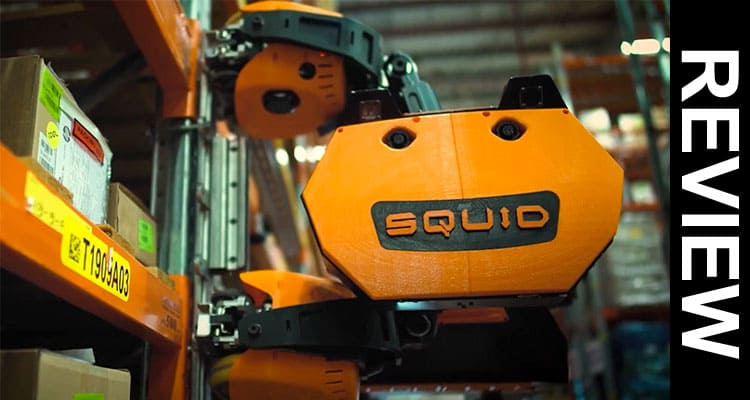Squid Warehouse Robot 2021