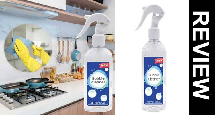 Easy off Kitchen Bubble Cleaner Reviews 2021