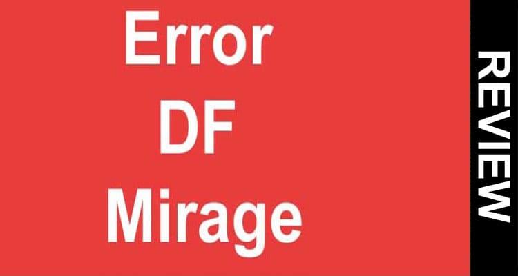 Error Df Mirage 2021 Smooth