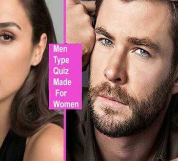 Men Type Quiz Made For Women 2021