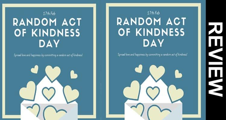 Random Act of Kindness Day UK 2021