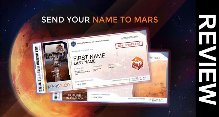 Send Name to Mars 2021