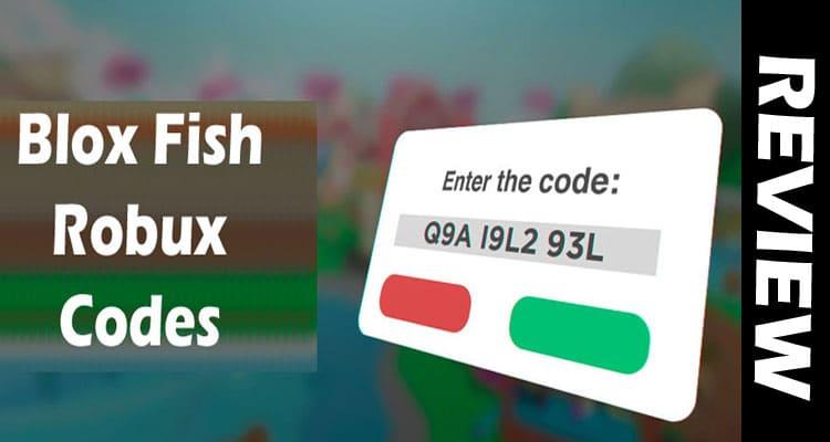 Blox Fish Robux Codes 2021