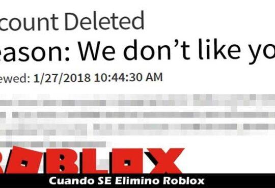 Cuando SE Elimino Roblox {2021} ¡Comprueba la verdad a continuación!..
