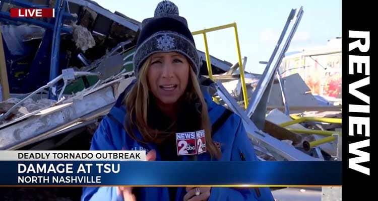 Danielle Breezy Tornado Coverage 2021