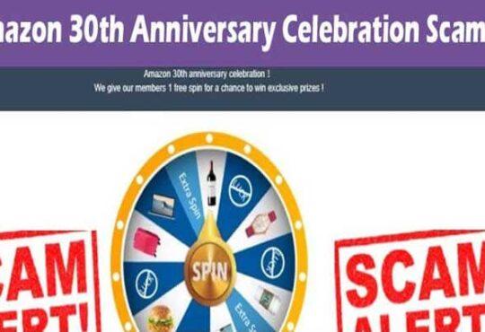 Is Amazon 30th Anniversary Celebration Scam smoothcreationsonline