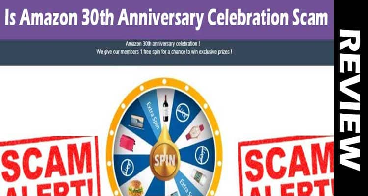 Is Amazon 30th Anniversary Celebration Scam smoothcreationsonline