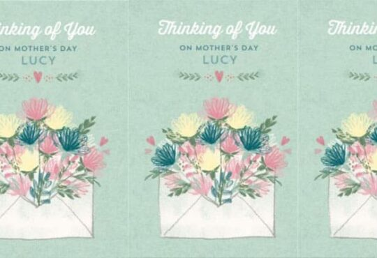 Moonpig Mothers Day Card 2021