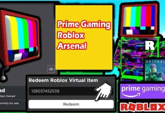 Prime Gaming Roblox Arsenal 2021