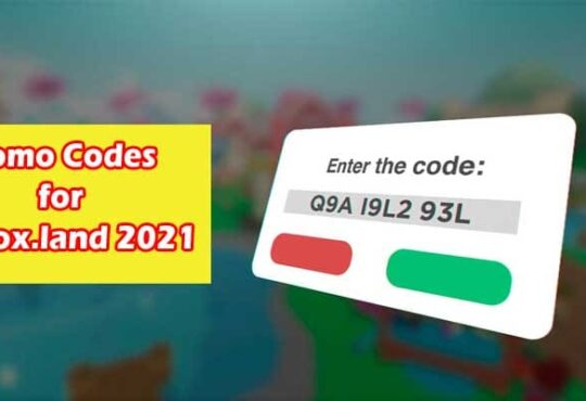 Promo Codes For blox.land 2021