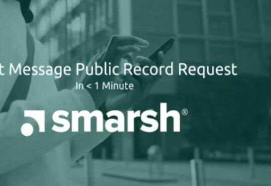 Public Record Text Message 2021