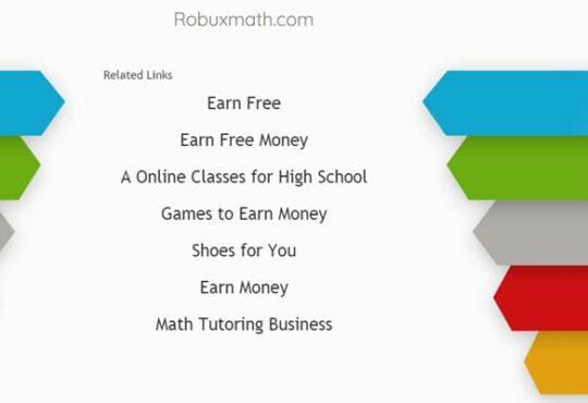 Robuxmath.com 2021
