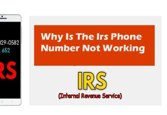 Why Is The Irs Phone Number Not Working 2021