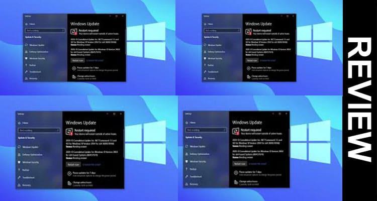 Windows Update Error 0x80070541 2021