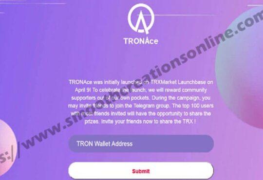 Tron System Airdrop Telegram Legit 2021