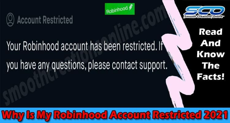 Why Is My Robinhood Account Restricted 2021.
