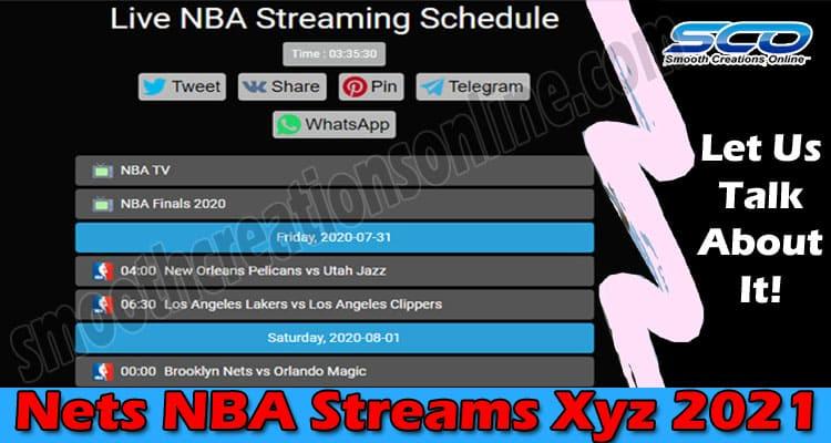 Nets NBA Streams Xyz 2021.