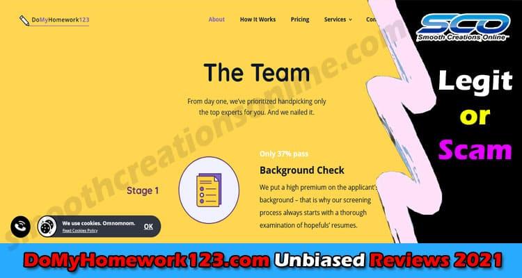 DoMyHomework123.com Review 2021