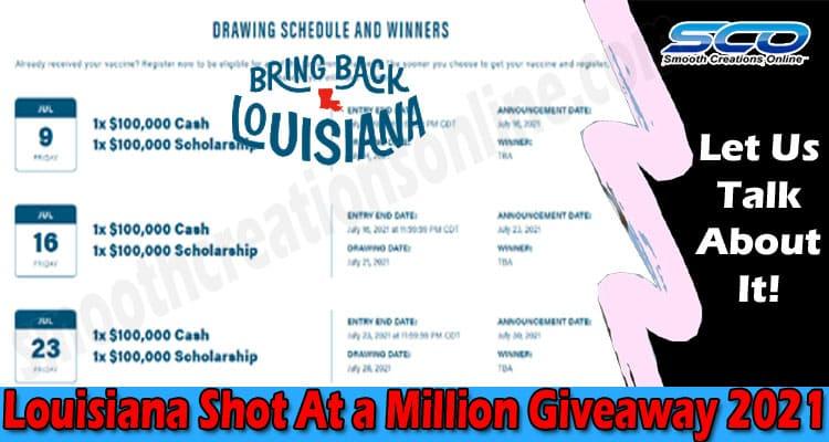 Louisiana Shot At A Million Giveaway 2021
