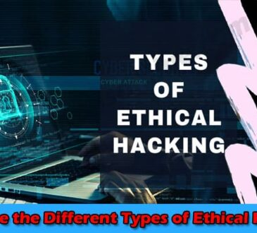 What are the Different Types of Ethical Hacking 2021